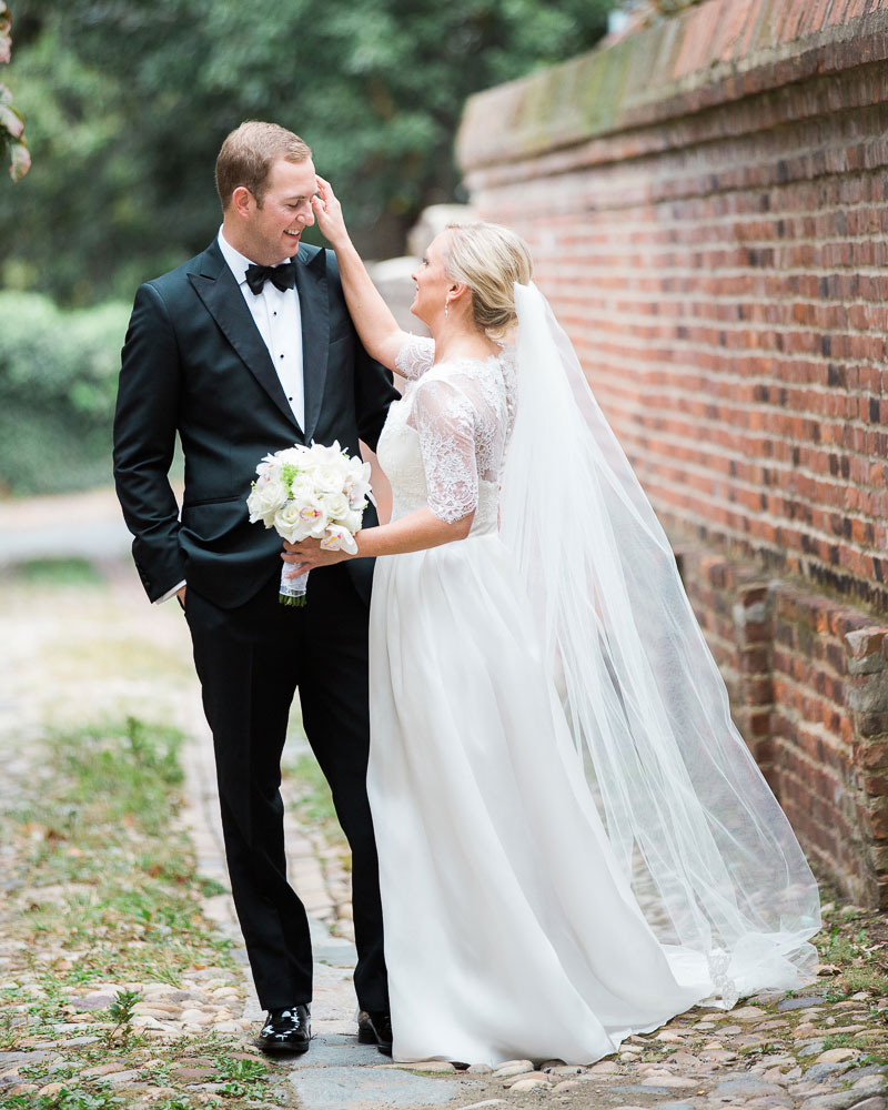 alexandria wedding photographer first look