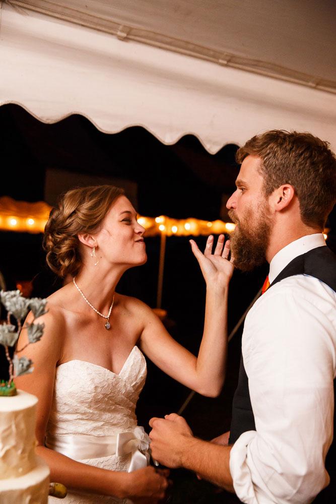 cake cutting maryland wedding photographer