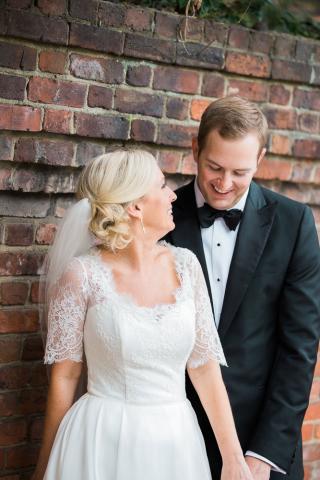 bride and groom alexandria weddings