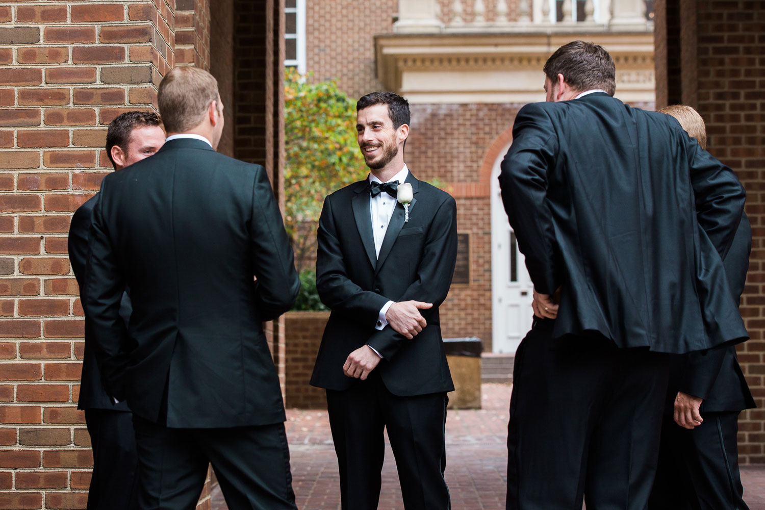 groomsmen alexandria wedding photographer