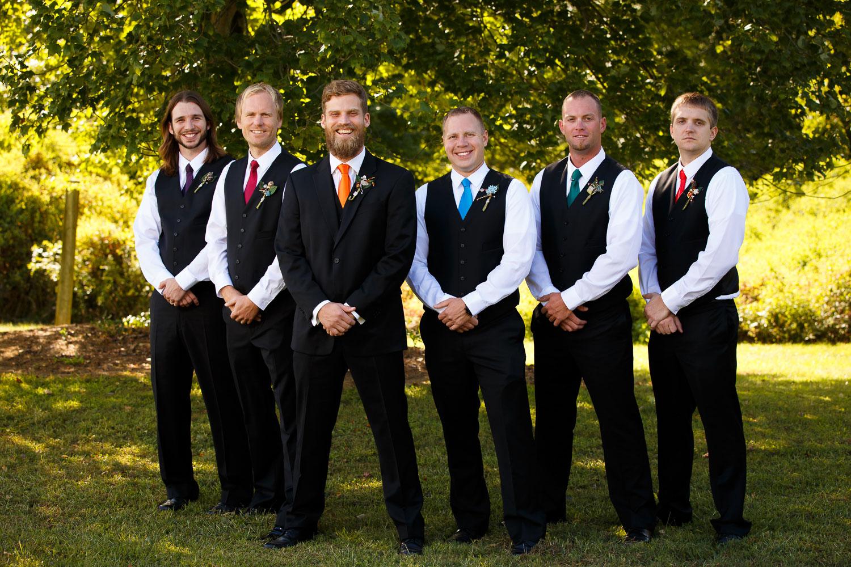 groomsmen photo maryland wedding photographer