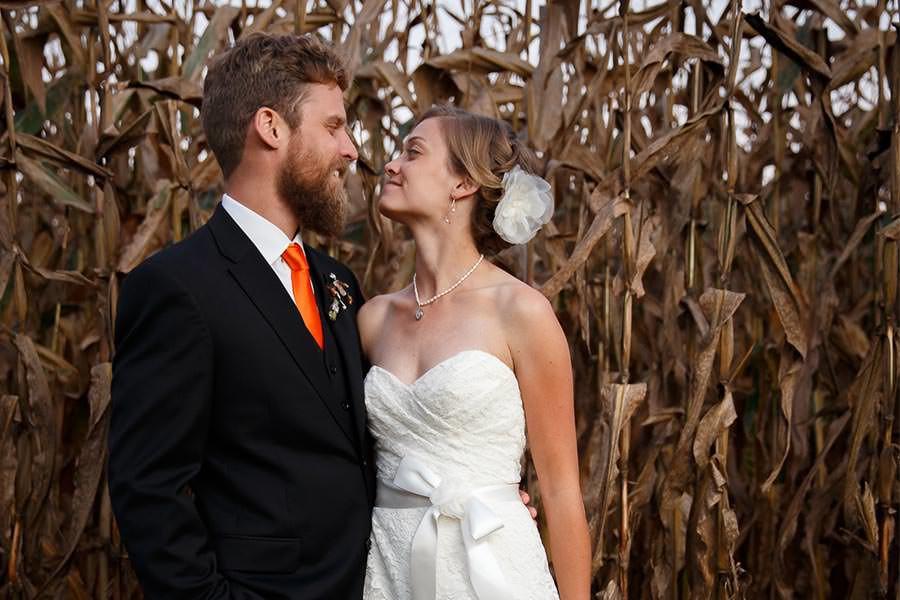 Lee + Christian | Maryland Countryside DIY Wedding