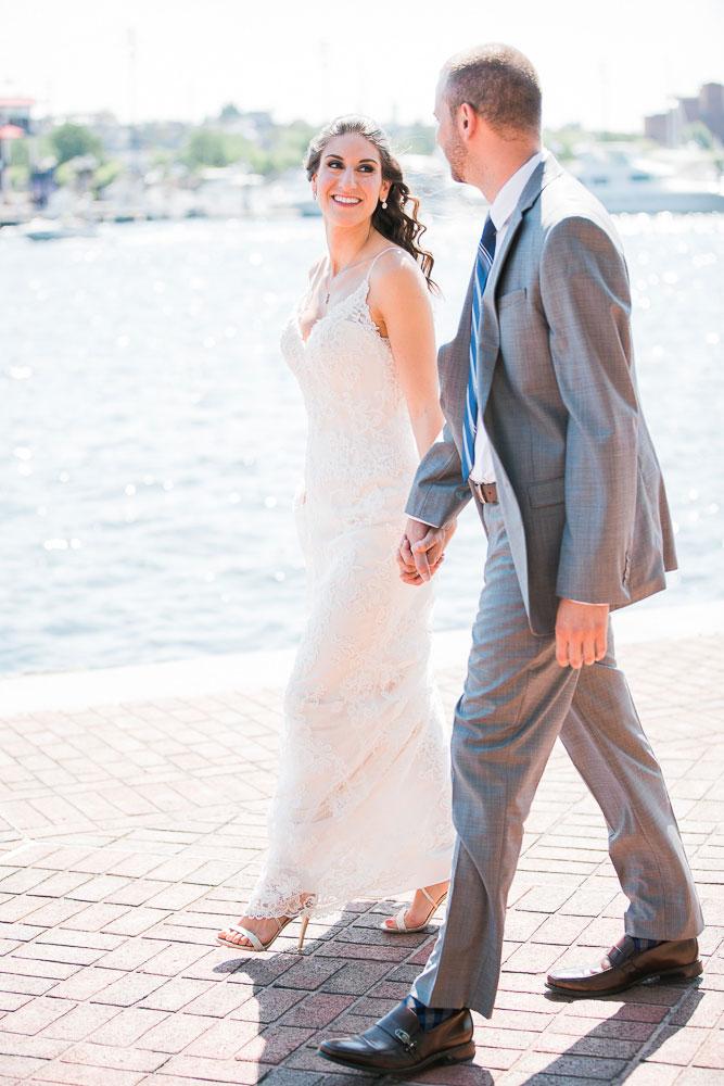 inner harbor baltimore wedding photographer pier 5