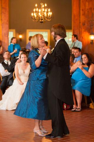 mother son dance baltimore wedding