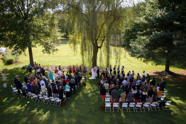 outdoor wedding maryland
