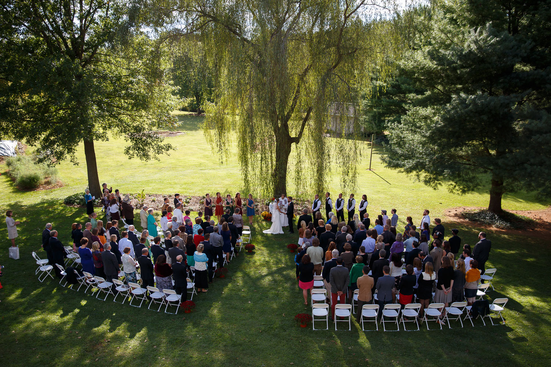 outdoor wedding maryland