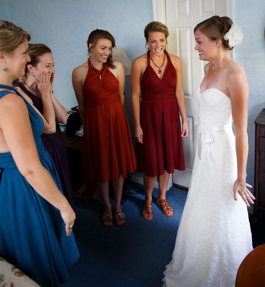 wedding dress reveal maryland