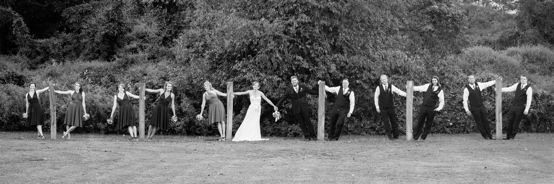 wedding party maryland wedding