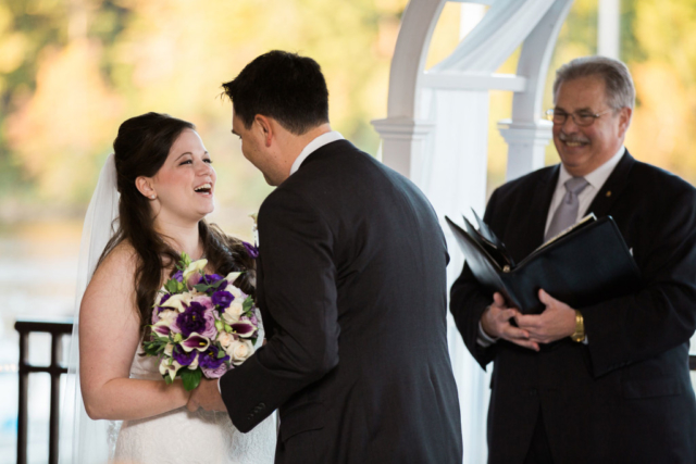 wedding vows harbor view virginia
